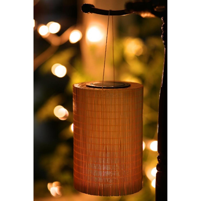 bambus solarlampe rund solarlicht gartenlampe gartenlicht 14. Black Bedroom Furniture Sets. Home Design Ideas
