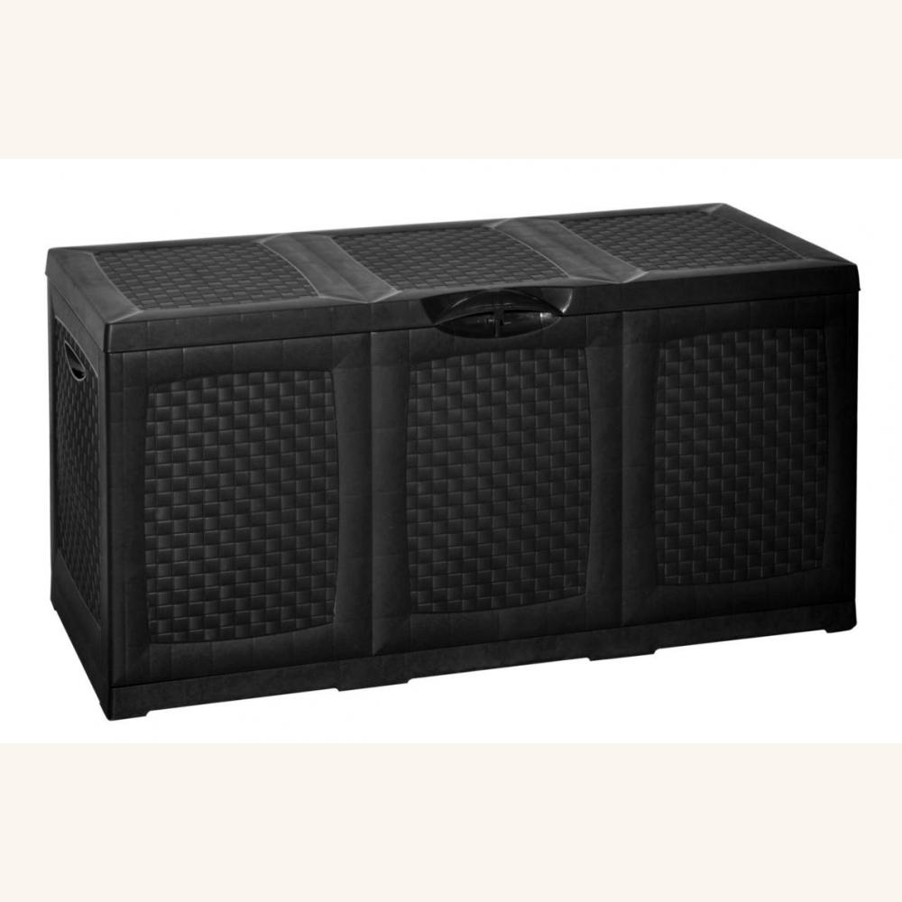 gartentruhe aufbewahrungsbox f r den garten rattan 49 9. Black Bedroom Furniture Sets. Home Design Ideas