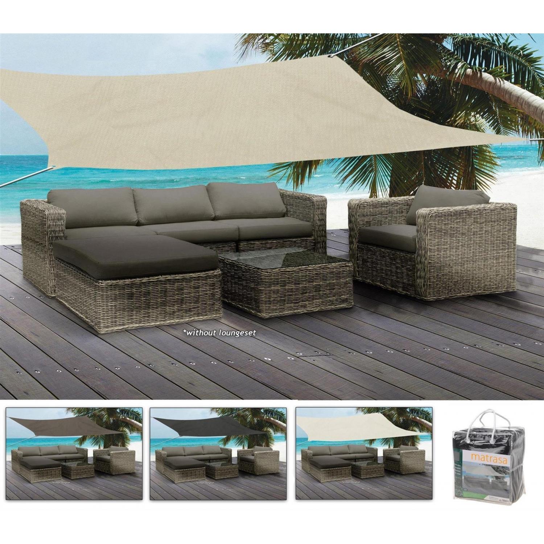 sonnensegel in versch erdt nen quadratisch 5x5 m 74 99. Black Bedroom Furniture Sets. Home Design Ideas