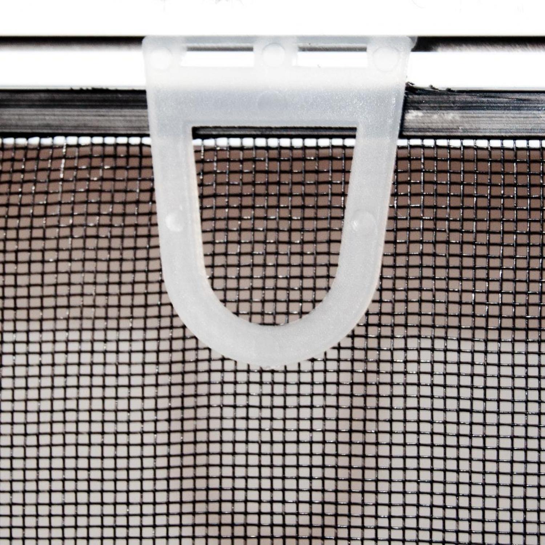 Standard alu bausatz f r fenster fliegengitter insektensch for Insektenschutz fenster
