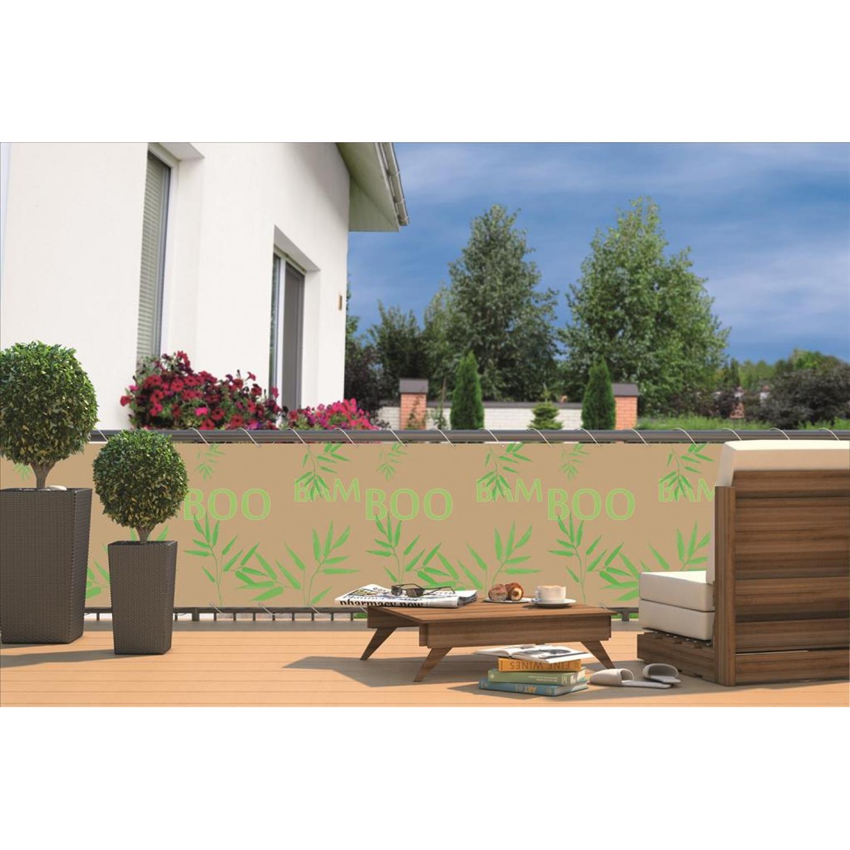 balkon sichtschutz sichtschutzplane f r balkon gel nd. Black Bedroom Furniture Sets. Home Design Ideas