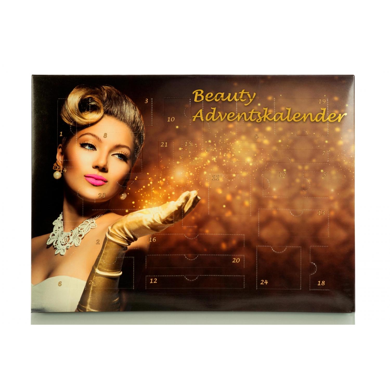 Beauty Adventskalender mit MakeUp - Dekorative Kosmetik Weihnachtskalender