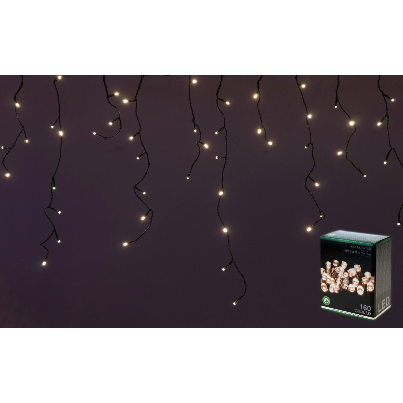 eiszapfenlichterkette eiszapfen lichterkette 3 1 m 160 led 1. Black Bedroom Furniture Sets. Home Design Ideas