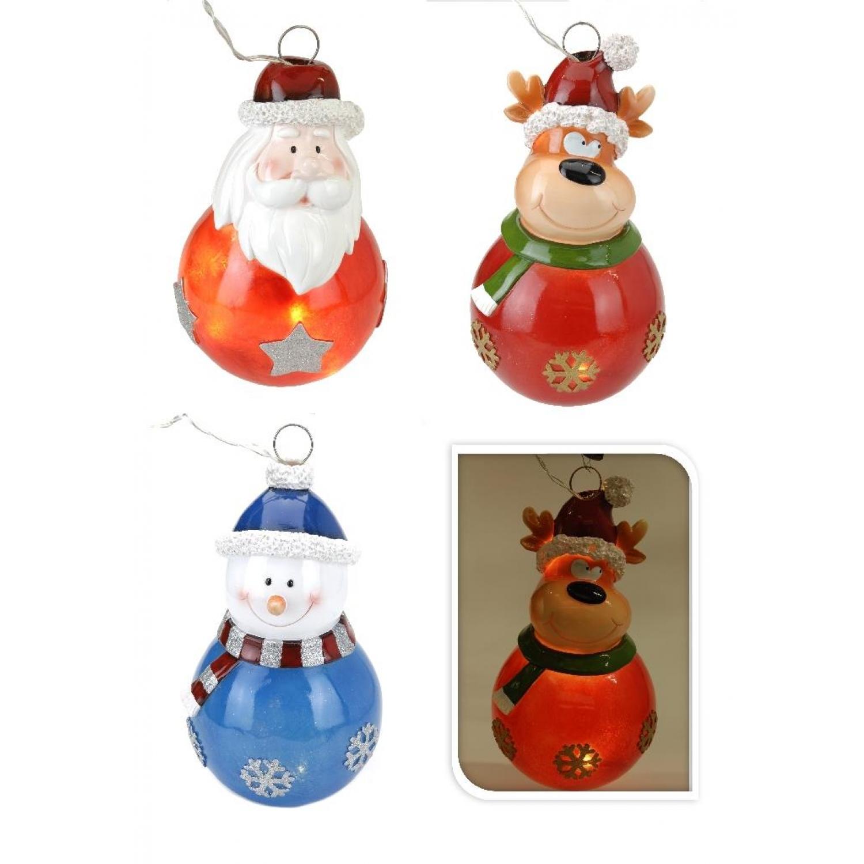 Ornamente Weihnachtsmann Schneemann Baum Holz Hängen Dekor Anhänger G8Q5