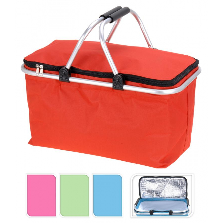 Kühltasche - Einkaufstasche - Einkaufskorb - Picknick Korb Kühlkorb Kühlbox