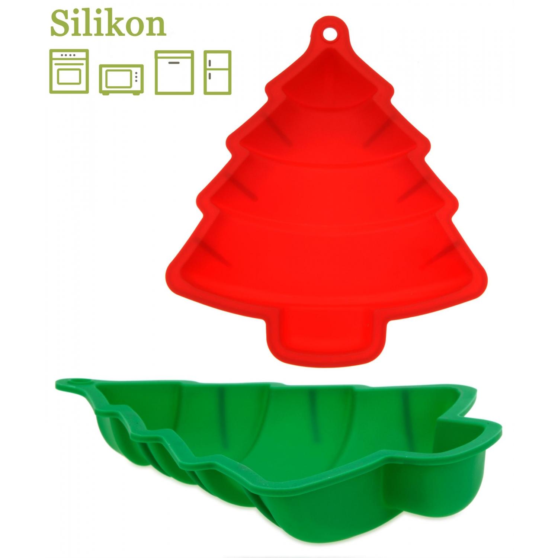 silikon backform tannenbaum weihnachtsbackform 23 5 cm rot 5 9. Black Bedroom Furniture Sets. Home Design Ideas
