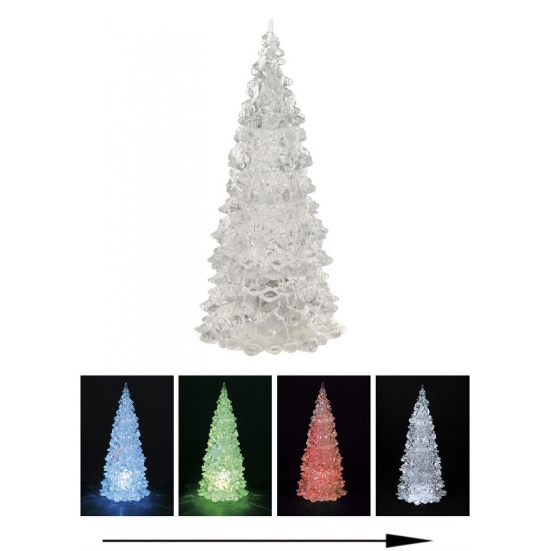 Weihnachtsbaum mit Farbwechsel - LED Beleuchtung - 22 cm, 7,99 &e