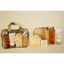 Badeset BODY LUXURIOUS in PVC Tasche inkl. goldener...