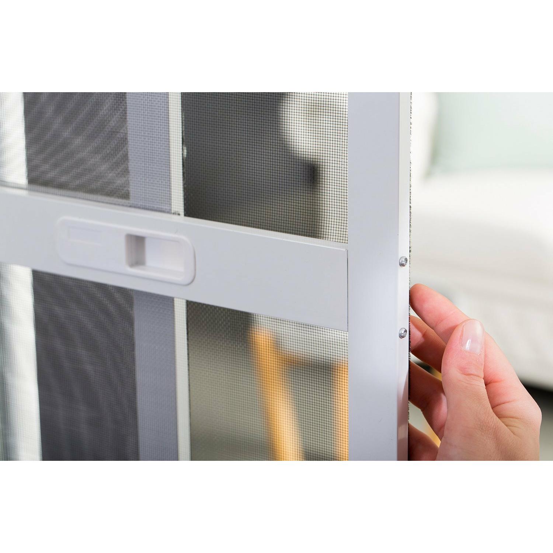 doppel schiebet r premium alu bausatz fliegengitter insekt. Black Bedroom Furniture Sets. Home Design Ideas