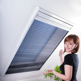 kombi dachfenster plissee sonnenschutz fliegengitter komb. Black Bedroom Furniture Sets. Home Design Ideas