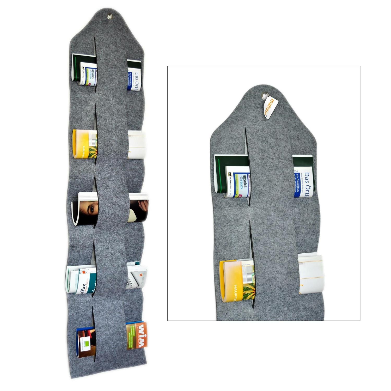 zeitschriftenbutler zeitschriftenhalter aus filz. Black Bedroom Furniture Sets. Home Design Ideas