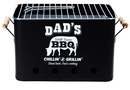 Holzkohlegrill Dads World Famous BBQ - Picknickgrill...