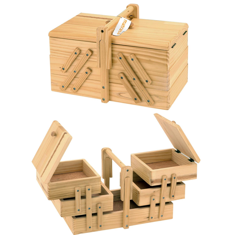 aufbewahrungsbox holz preisvergleich die besten angebote. Black Bedroom Furniture Sets. Home Design Ideas