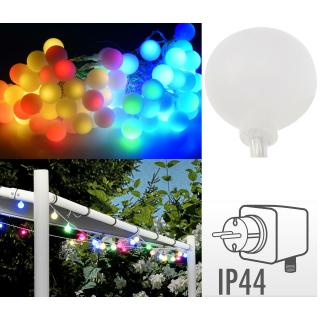 Gartenlichterkette 80 Led Partybeleuchtung Partylichterkette Li