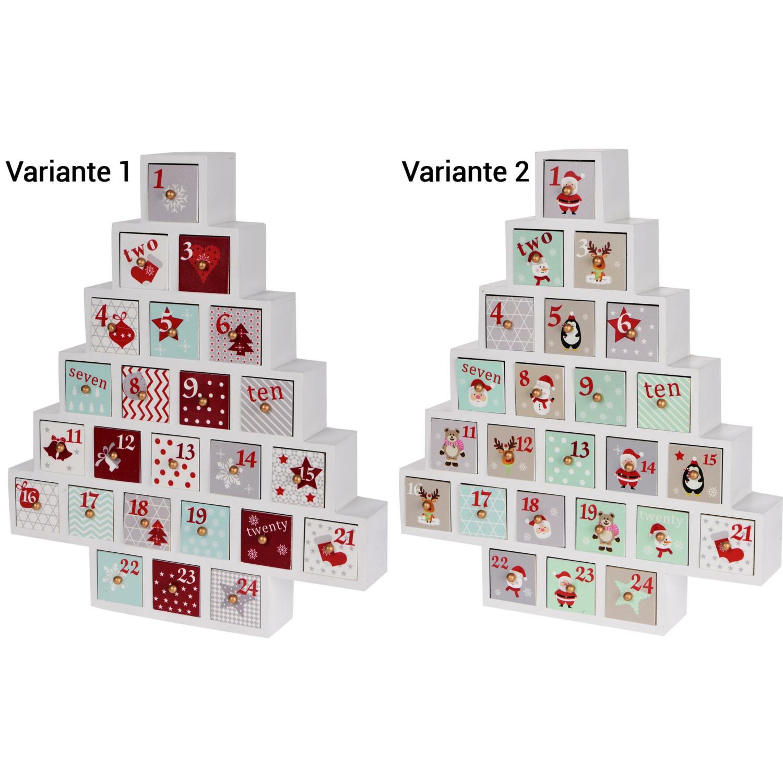 adventskalender weihnachtsbaum zum selbst bef llen holz xx. Black Bedroom Furniture Sets. Home Design Ideas