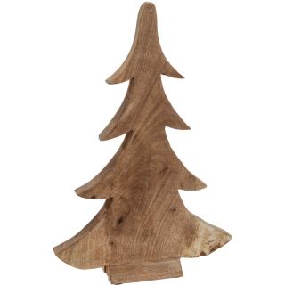Gut gemocht Deko Tannenbaum aus Holz - Dekofigur Weihnachtsdeko massiv & natu CC55