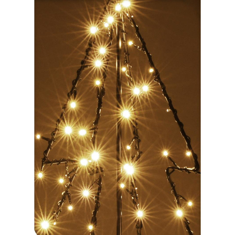 beleuchteter weihnachtsbaum 150cm 200 led baum warmwei ip44 au e 44 99